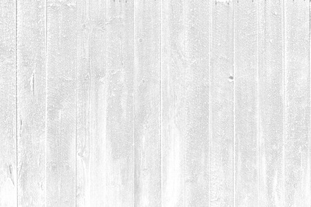 Frozen white plank wood panel background concept