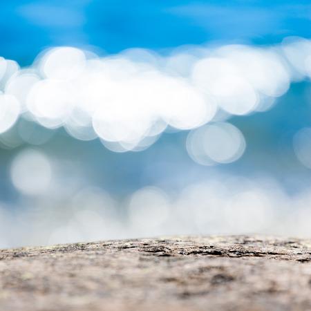 glistening: Shimmering, glittering sea