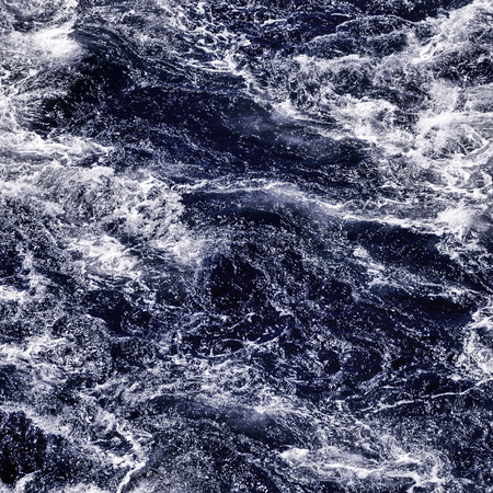 seething: Stormy sea, dramatic waves and seething