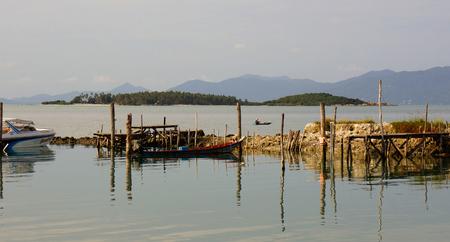 koh: Fishing pier, Koh Samui, Thailand
