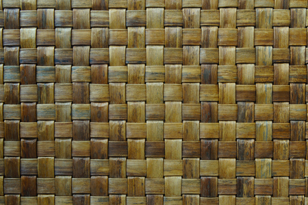 straw twig: mat, texture of natural fibers used in weaving baskets and interior decoration