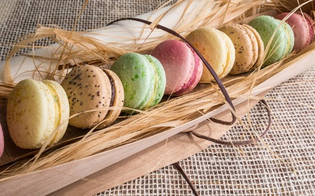 macaroon cookies photo