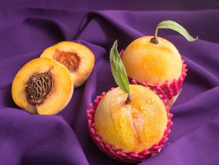 The Homemade cakes - peachon velvet . very similar