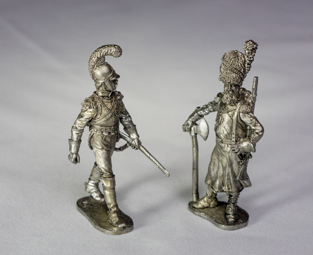 tin: tin soldiers Stock Photo