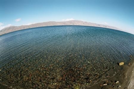 Lake Sevan in Armenia. photo