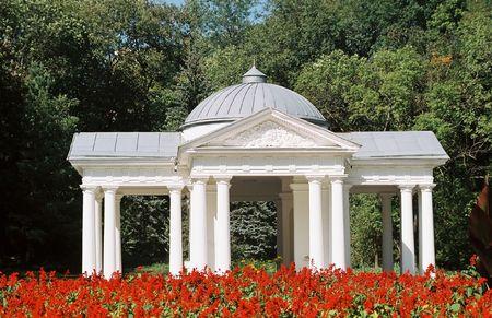 caucasus: Well-room in city Essentuki,Northern Caucasus,Russia.