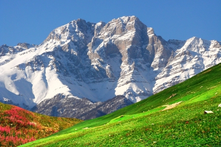 Mountains of the Armenia in autumn day,Caucasus,Armenia. photo