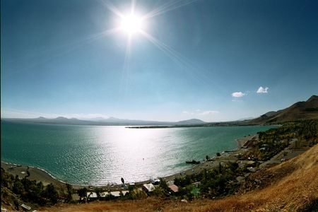Lake Sevan in Armenia.