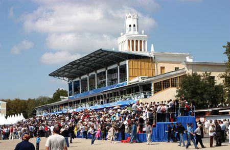 pyatigorsk:  PYATIGORSK, RUSSIA - MAY 2: Opening of the race season,May 2,2009 in Pyatigorsk, Caucasus, Russia.