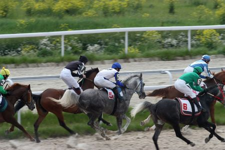 PYATIGORSK, RUSSIA - MAY 23: The race for the prize of the