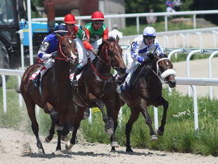 PYATIGORSK, RUSSIA - MAY 30: The race for the prize of the