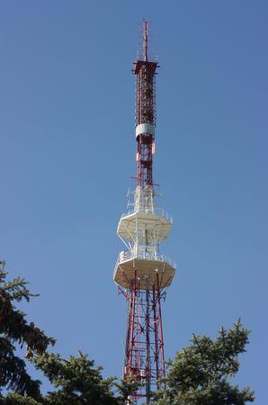 pyatigorsk: TV tower Mount Mashuk located in Pyatigorsk,Northern Caucasus,Russia.