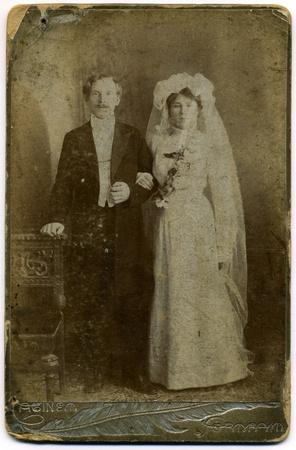 The shot was taken around 1914 year. Stock Photo