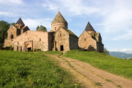 Goshavank Monastery was founded in 1188. It is located about 20 miles east of Dilijan,Armenia. photo
