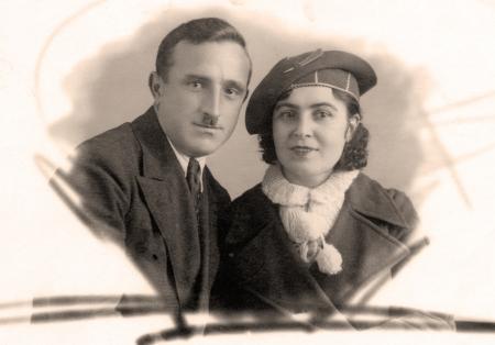 armenian woman: Old family photo - circa 1954,Caucasus,Russia