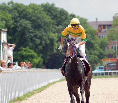 pyatigorsk: Horse race for the prize of Dombai in Pyatigorsk