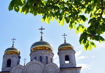 pyatigorsk: The Cathedral of Christ the Savior in Pyatigorsk,Caucasus,Russia