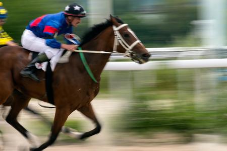 pyatigorsk: Horse race for the prize Pyatigorsk, Northern Caucasus.