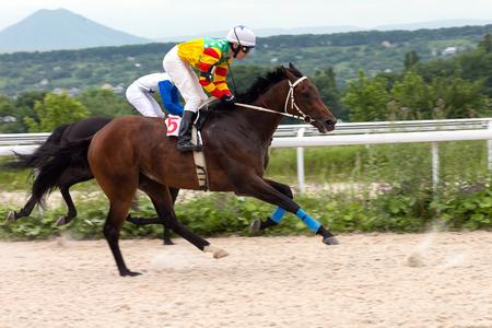 pyatigorsk: Race for the prize of the  Pyatigorsk in Caucasus.