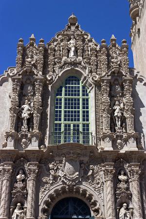 balboa: A View of Structure Casa del Prado at Balboa Park in San Diego,California,USA.
