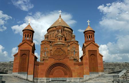 Saint Hovhannes church in Abovyan city,Transcaucasia, Armenia.