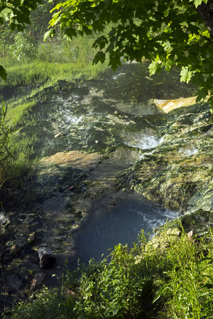 Natural source of mineral curative water in Pyatigorsk,Northern Caucasus,Russia