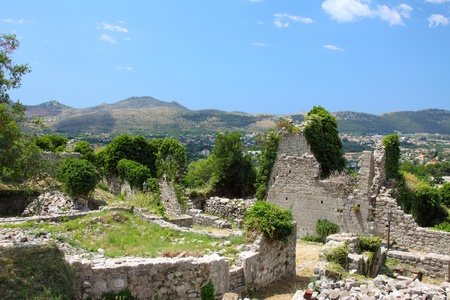 the ruins of the ancient city of Bar Stock Photo - 11614651