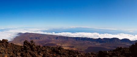 Teide volcano on a sunny day photo