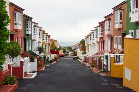 townhouses on the beach photo