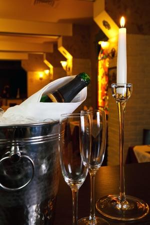 glasses of champagne photo