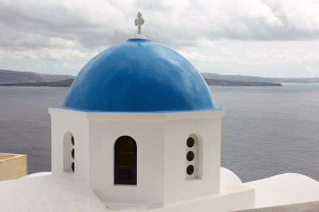 the island of Santorini Stock Photo - 13631550