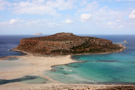 Tigani rock Balos bay photo