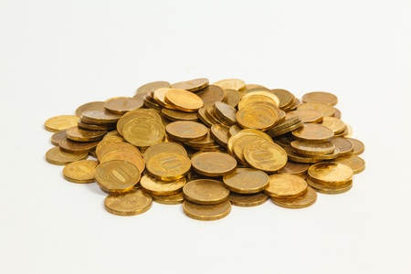 a lot of golden coins Stock Photo - 14561829