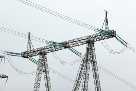 three phase: support high-voltage line