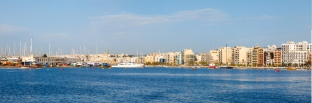 morning in Manoel Island in Gziras Marsamxett Harbour, Malta photo