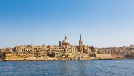 Valletta and Marsamxett Harbour, Malta photo