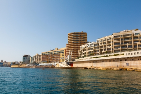 morning in Manoel Island in Gzira's Marsamxett Harbour, Malta photo