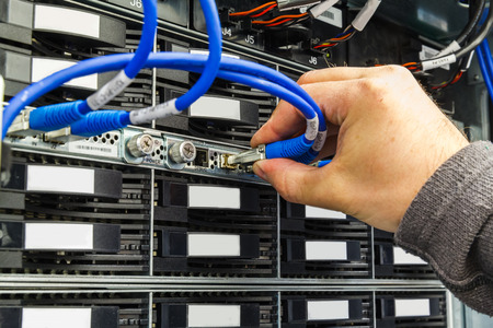 replacing: replacing a failed hard drive in the storage system in the data center