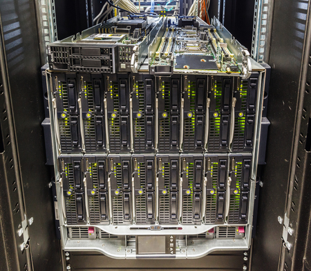 nas: server chassis, the platform virtualization in the data center server rack and failed blade server