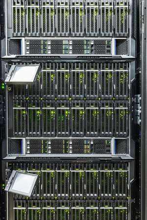 chassis: server chassis, the platform virtualization in the data center server rack and failed blade server