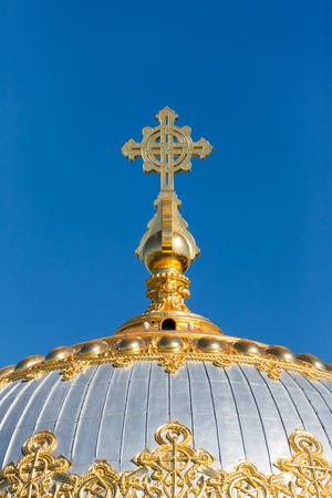 naval: Naval cathedral of Saint Nicholas in Kronstadt, St.-Petersburg, Russia