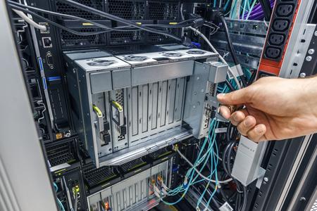 nas: faulty blade server