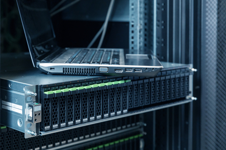 information medium: hard disks drive in the storage system