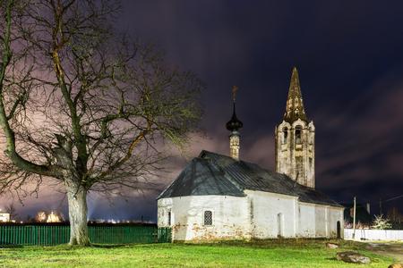 Suzdal, Russia. church of Nativity of St. John the Baptist