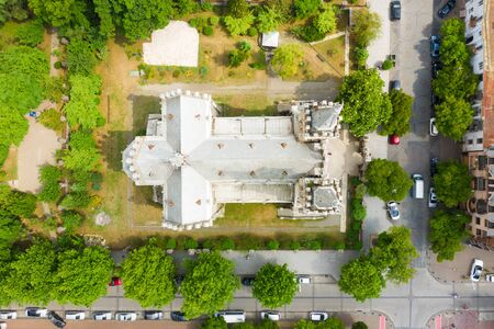 Cathedral of the Nativity of the Blessed Virgin Mary or Batumi Mother of God. Batumi. Georgia.