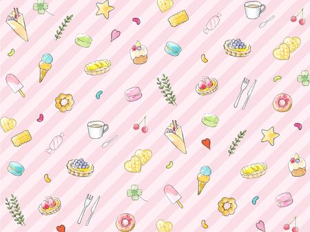 Sweets background Textures