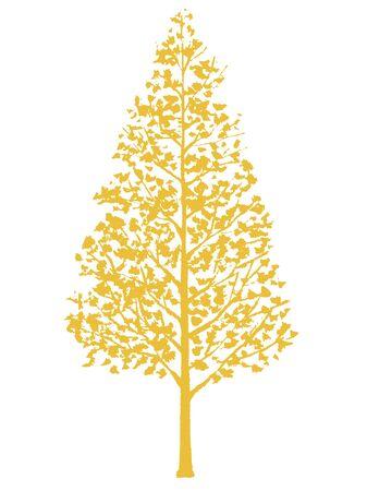 Wooden Silhouette Illustration