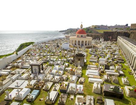 magdalena: Santa Maria Magdalena de Pazzis Cemetery in San Juan, Puerto Rico