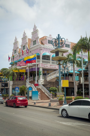aruba: Architecture on Aruba island