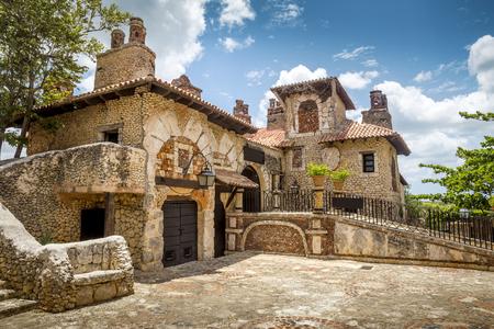 dominican republic: Altos de Chavon village, La Romana in Dominican Republic